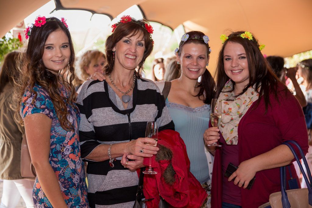 Smile Moms Tea Party at D'Aria Wine Estate