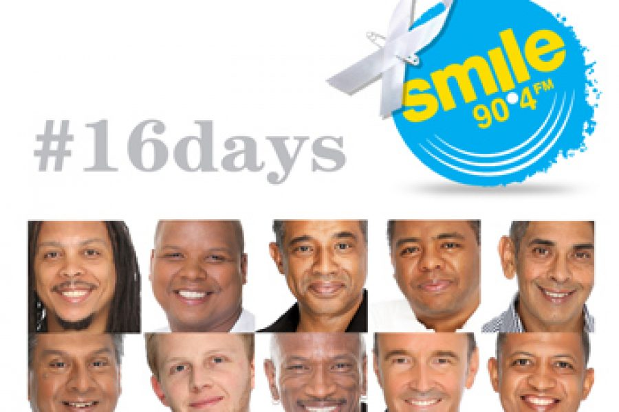 Smile 90.4FM … speaking out in support of 16 Days of Activism for NO Violence Against Women and Children