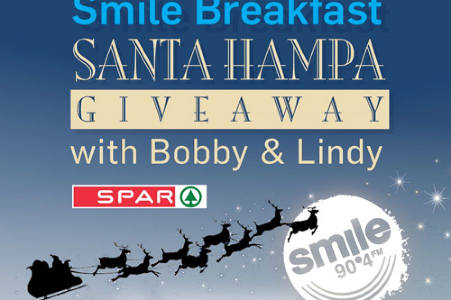 Smile Breakfast Santa Hampa Giveaway with Bobby and Lindy