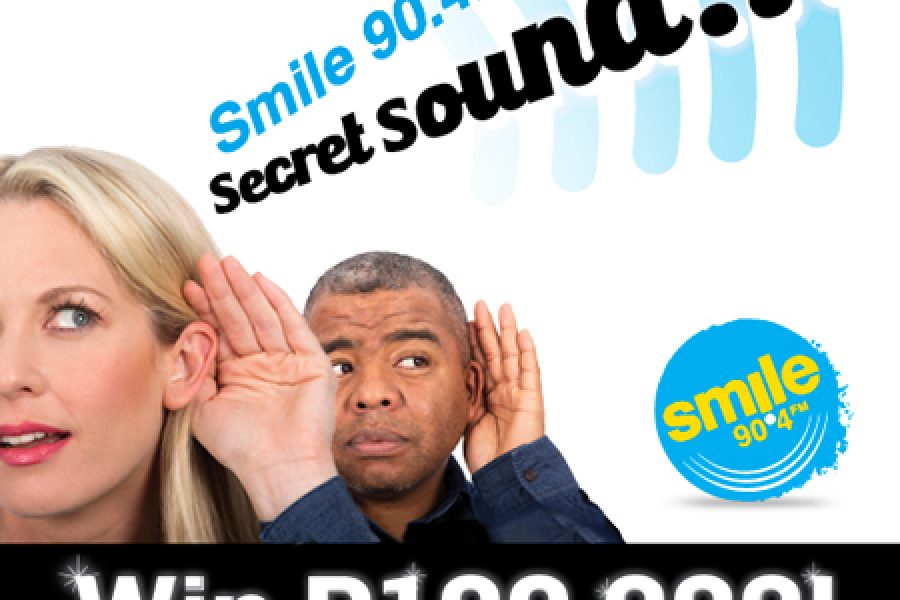 Guess the Smile Secret Sound and win R100 000