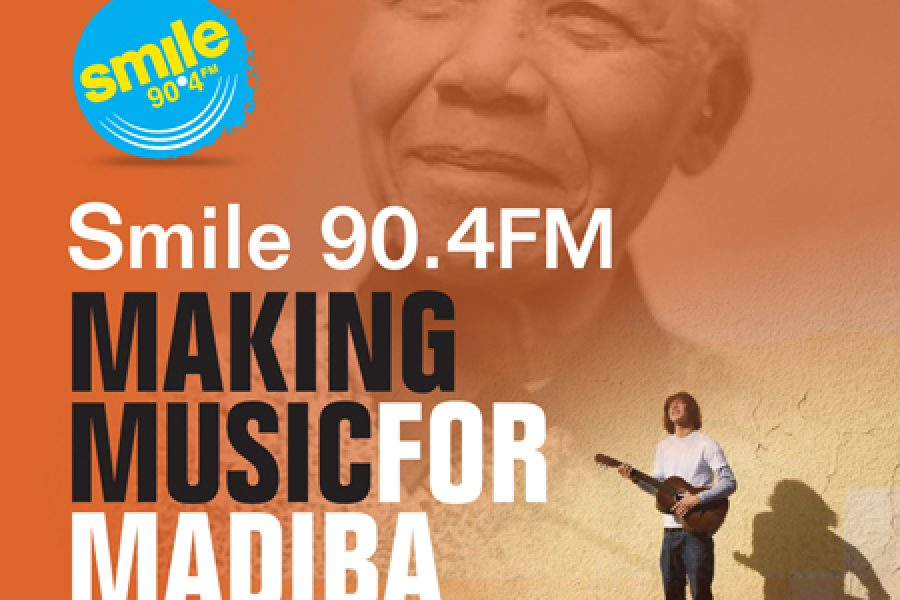 SMILE 90.4FM MAKING MUSIC FOR MADIBA 67 Buskers – 67 Minutes – 67 Street Corners