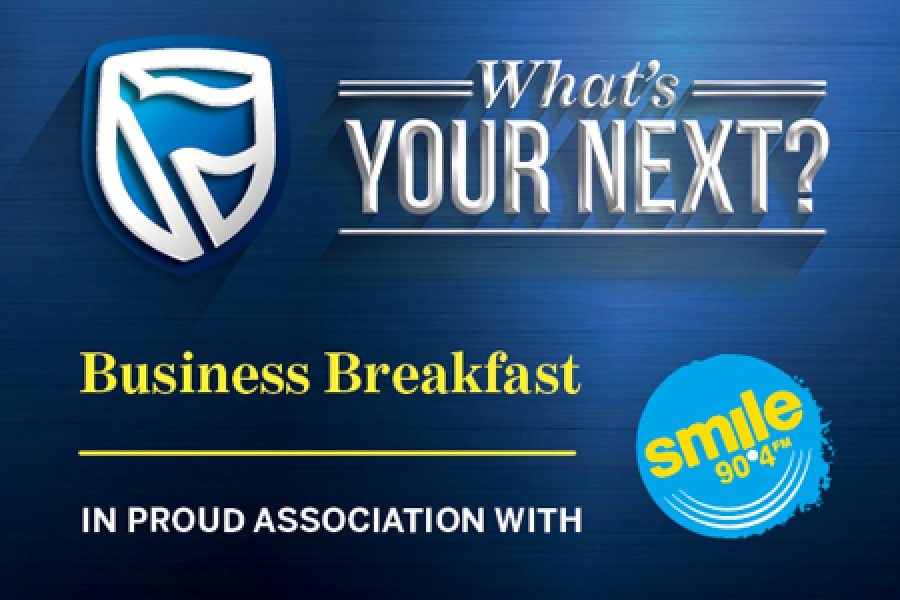 Standard Bank Business Breakfast in proud association