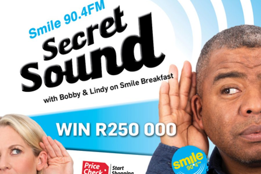 Guess the Smile Secret Sound and WIN a share of R250 000!