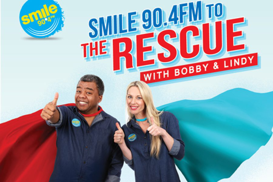 SMILE TO THE RESCUE with BOBBY AND LINDY