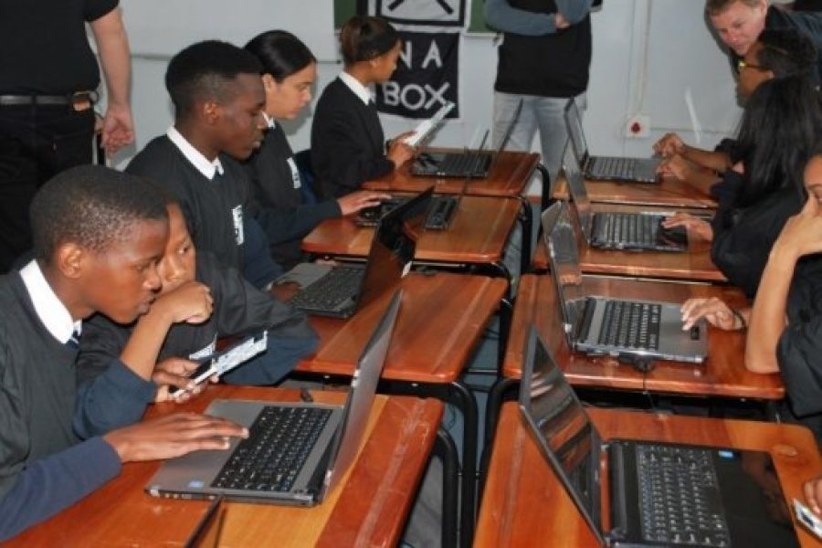 CAPE LEARNERS EXPOSED TO SPACE LEARNING