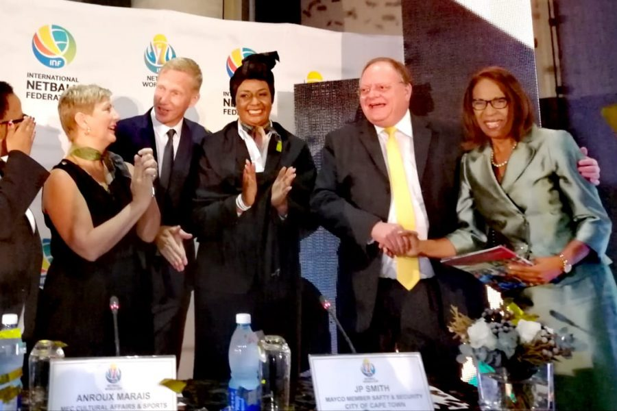 CAPE TOWN TO HOST 2023 NETBALL WORLD CUP