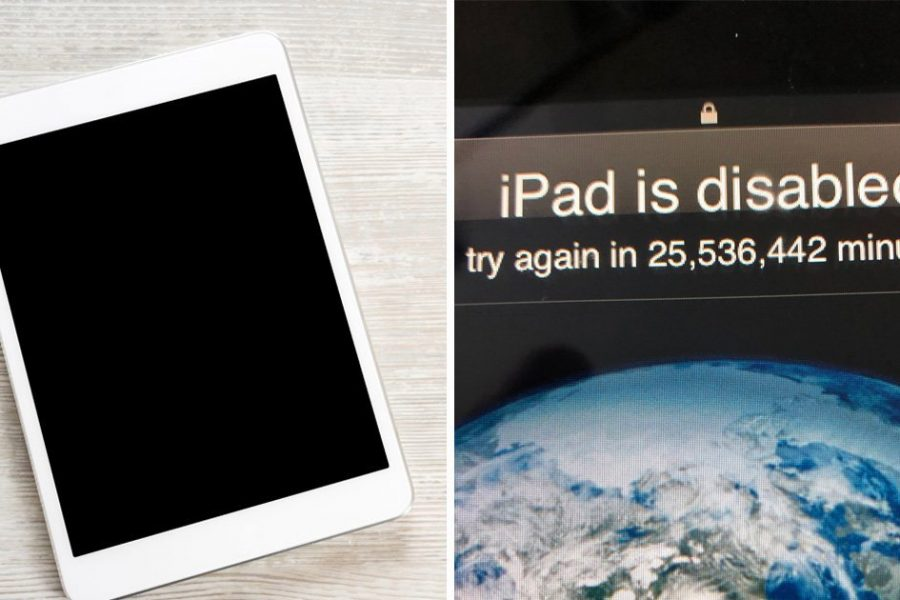 Toddler locks Dad out of iPad for 47 years