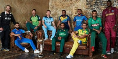 PIC: ICC CRICKET WORLD CUP CAPTAINS!