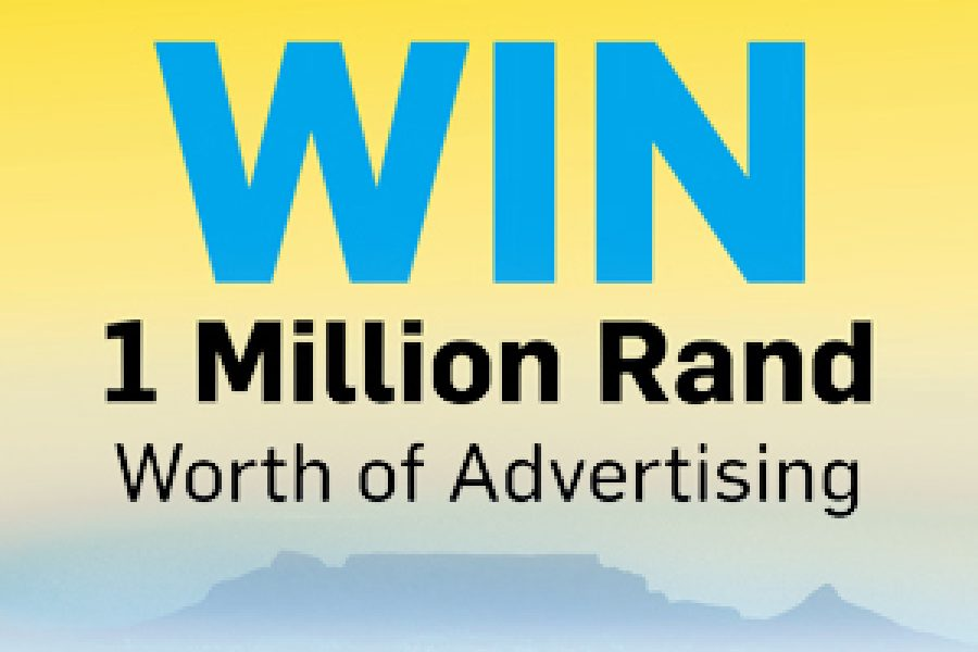 Win 1 Million Rand worth of Advertising