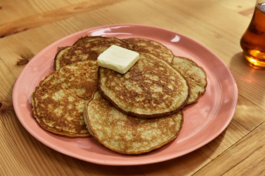 Father's Day Treat: 2 Ingredient Pancakes