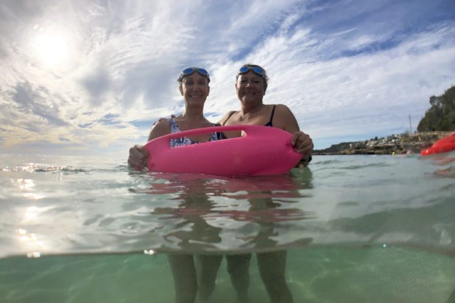 AUSTRALIA TESTING INNOVATIVE NSRI PINK RESCUE BUOY