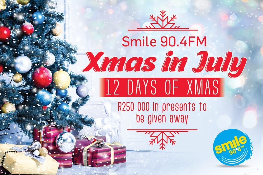 Xmas in July on Smile 90.4FM