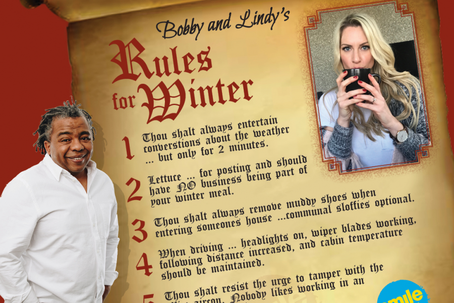 Bobby & Lindy's Rules for Winter