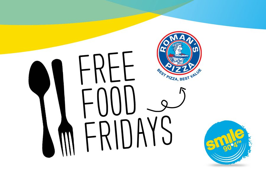 Free Food Fridays with Smile 90.4FM and Roman's