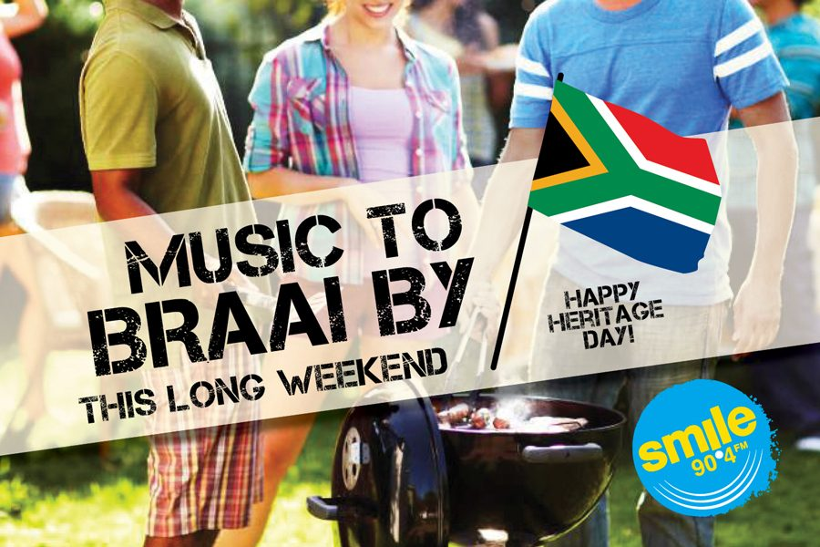 MUSIC TO BRAAI BY LONG WEEKEND … ON SMILE 90.4FM!