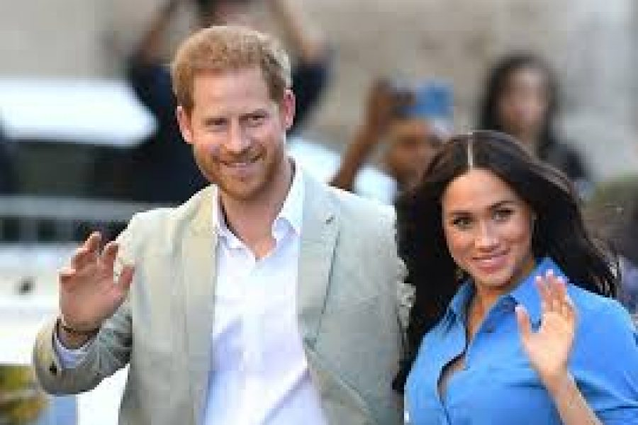 HARRY AND MEGHAN CHARM CAPE TOWN