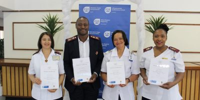 Tygerberg Hospital Nursing Staff recognised for clinical excellence