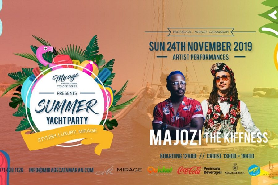 THE MIRAGE 'FOREVER SUMMER CONCERT SERIES' IN ASSOCIATION WITH SMILE 90.4FM – THE KIFFNESS & MAJOZI