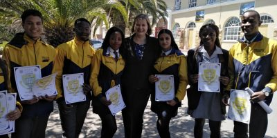 MATRIC CANDIDATES SIGN PLEDGE NOT TO CHEAT ON EXAMS