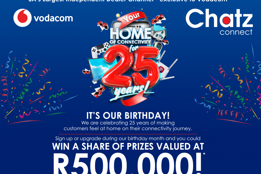 Chatz Connect's 25th Birthday Give Away