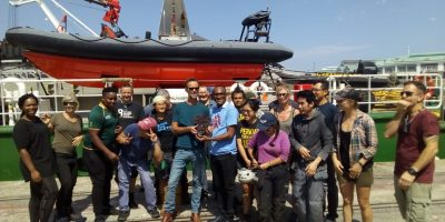 ARCTIC SUNRISE IN CAPE TOWN TO RAISE AWARENESS ABOUT OCEANS