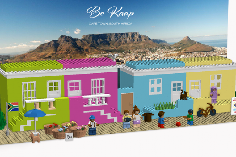 Bo Kaap As Lego