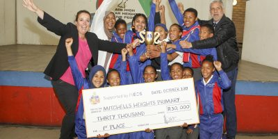 Mitchell Heights Primary School wins top honour in the Trash For Treats clean up and recycle competition