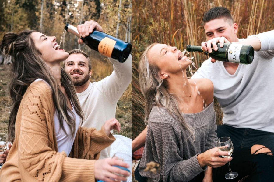 What's Going Viral: A Couple's attempt to Re-create a Pinterest Picture Backfires