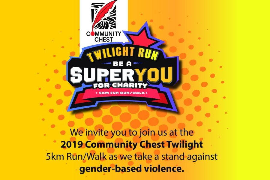 Community Chest Twilight 5KM Run/Walk to focus on Gender-Based Violence