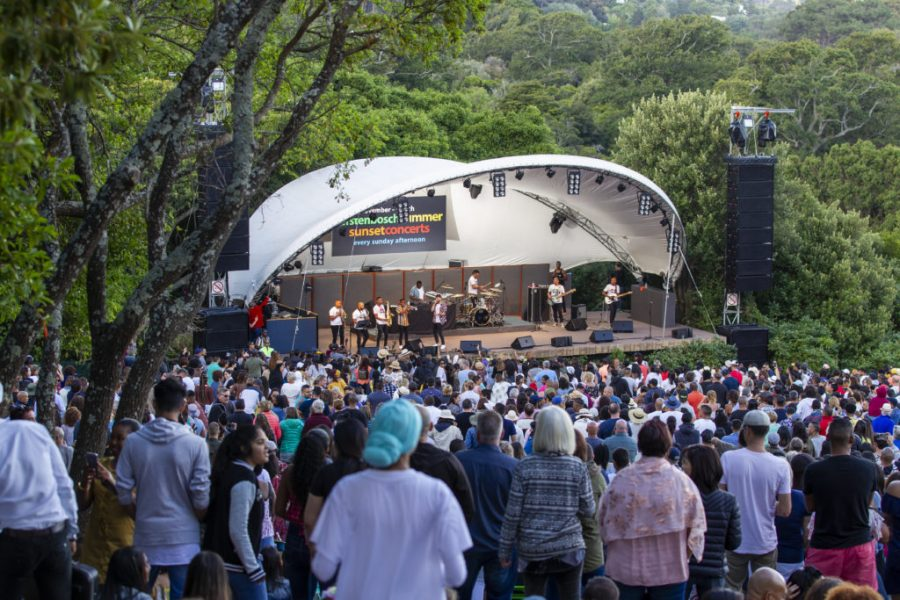 Theatre Buzz- Kirstenbosch Summer Concerts Line Up