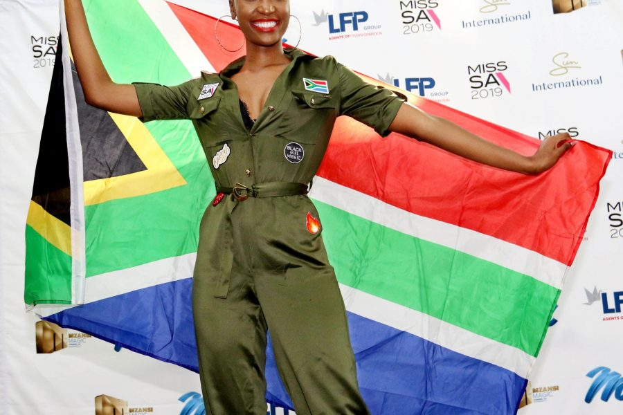 MISS SA OFF TO MISS UNIVERSE PAGEANT