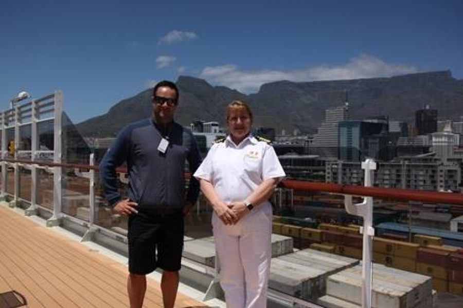 MARK BOUCHER AND CUNARD JOIN FORCES TO SAVE THE RHINO