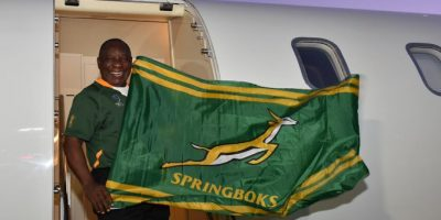 "WATCH: PRESIDENT RAMAPHOSA SAYS HE WANTS TO GIVE THE BOKKE ""WOEMA"""