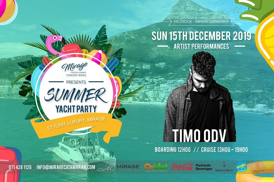 THE MIRAGE 'FOREVER SUMMER CONCERT SERIES' IN ASSOCIATION WITH SMILE 90.4FM – TIMO ODV