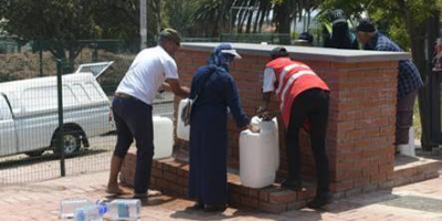 NEW SPRING WATER COLLECTION POINT IN VREDEHOEK