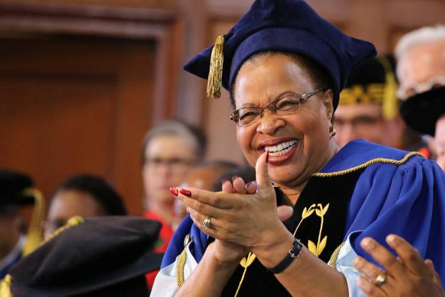 I AM NOT LEAVING UCT, I AM TAKING UCT WITH ME! – CHANCELLOR MACHEL