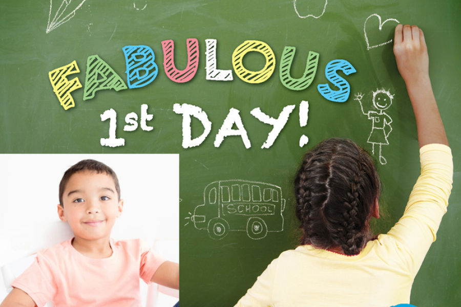 Ayden Felix's Fab First Day Of School – Powered by Smile 90.4fm & Mason Complete Office Solutions