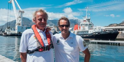 AUSTRALIAN YACHTSMAN AND CHRIS BERTISH TEAM UP AGAINST OCEAN PLASTIC POLLUTION