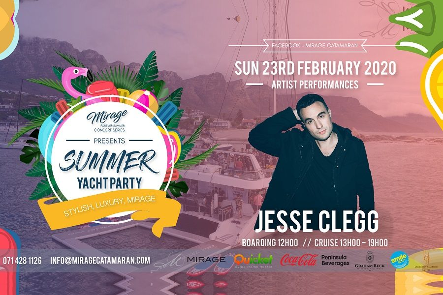 Catch Jesse Clegg at The Mirage Forever Summer Concert this February!!