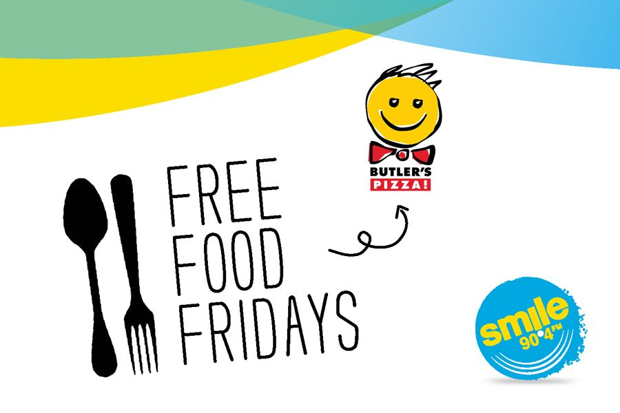 Free Food Fridays with Butlers Pizza!