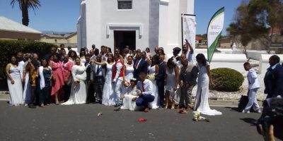 IN PICTURES: LOVE IS IN THE AIR – ROBBEN ISLAND HOSTS VALENTINE'S DAY MASS WEDDING