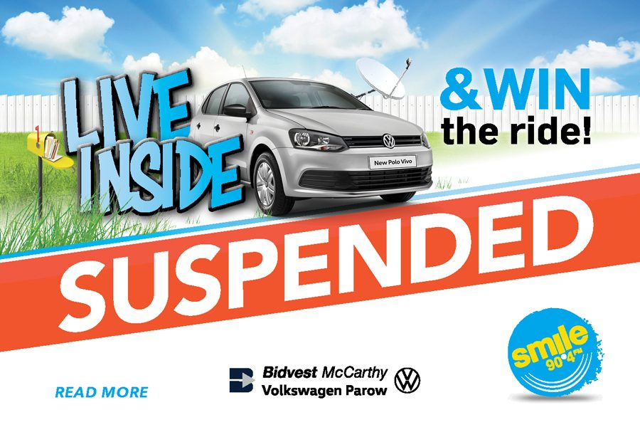 Live Inside & Win The Ride Campaign Suspended Amidst Covid-19 Concerns