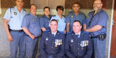 TWIN S.A.P.S. CAPTAINS BID FAREWELL AFTER 33 YEARS IN SERVICE