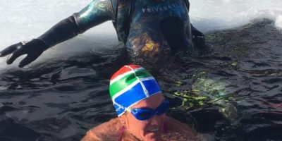 WATCH: SOUTH AFRICAN FREE-DIVER BREAKS WORLD RECORD