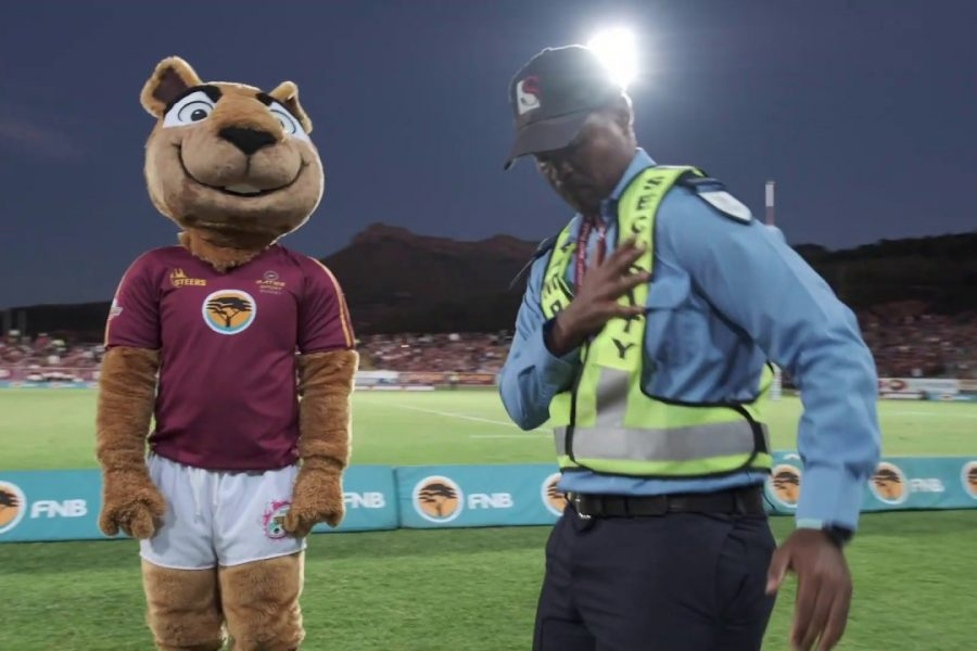 What's Going Viral: The Dance Off between Stellenbosch University's Mascot & Campus Security