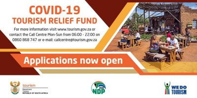 Applications for Tourism Relief Fund now open!