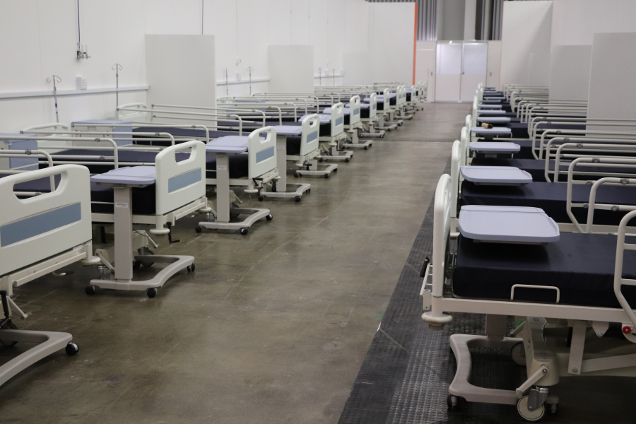 WATCH: CTICC on track to provide 850 COVID-19 hospital beds