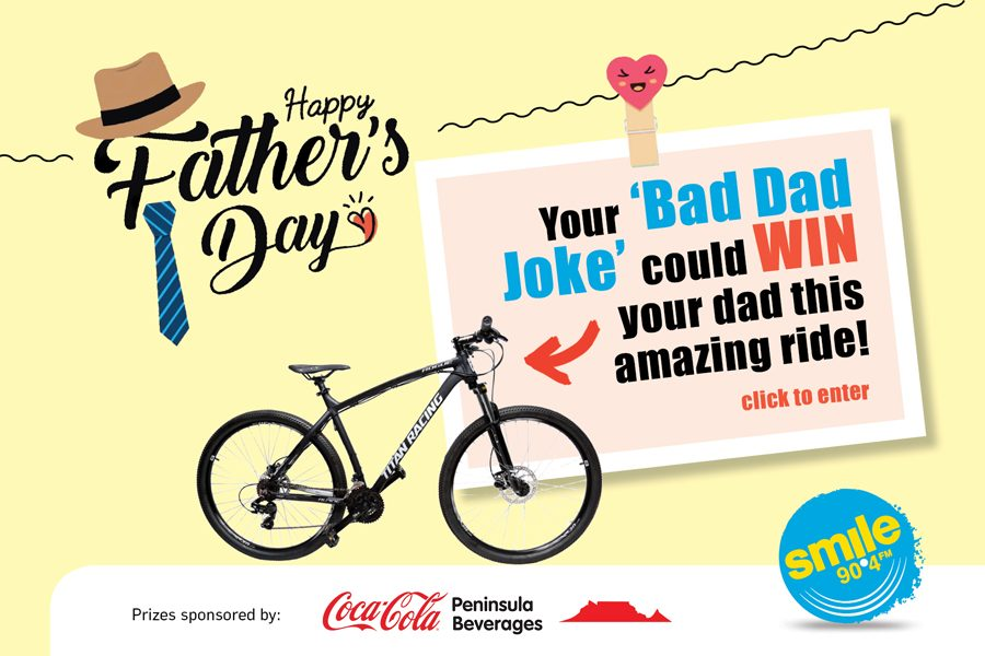 WIN: Make Angel Laugh With Your Best 'Dad Joke' This Father's Day!