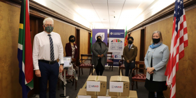 WESTERN CAPE RECEIVES VENTILATORS FROM THE UNITED STATES