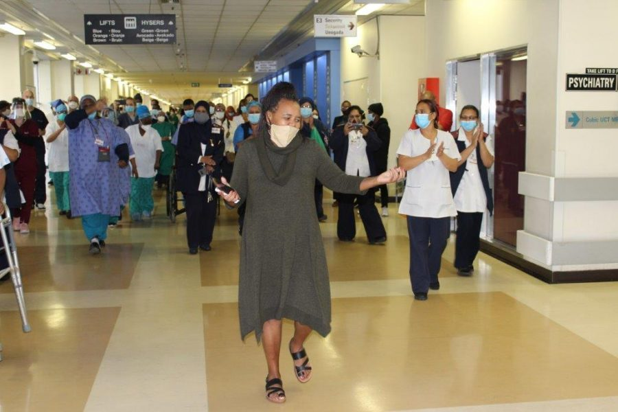 WATCH: COVID-19 PATIENT DANCES AFTER OUT OF HOSPITAL AFTER 77 DAYS!